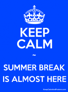 Keep Calm - Summer